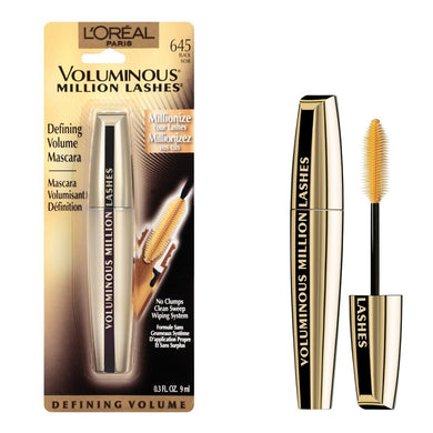 L'Oreal Paris Voluminous Million Lashes Black Mascara
