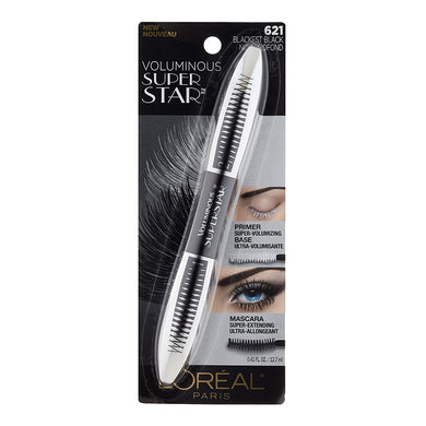 L'Oreal Voluminous Super Star Washable Mascara Blackest Black
