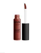 Load image into Gallery viewer, NYX Soft Metallic Lip Cream