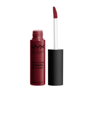 NYX Soft Metallic Lip Cream