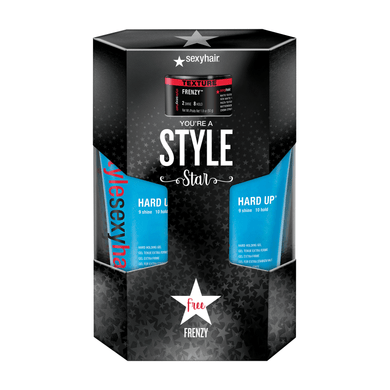 Style Sexy Hard Up Gel, Free Frenzy Texture Paste kit
