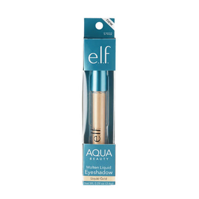e.l.f. Aqua BEAUTY Molten Liquid Eyeshadow Liquid Gold
