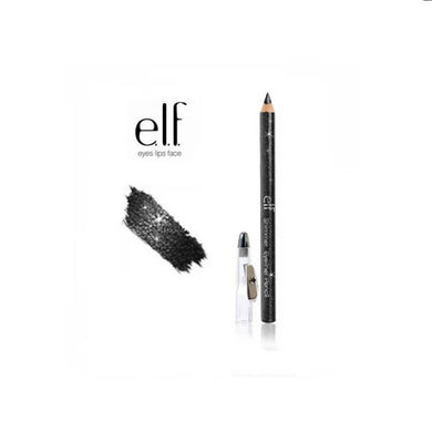 elf shimmer eyeliner pencil black bandit