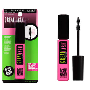Maybelline New York Great Lash Mascara Blackest Black