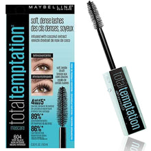 Load image into Gallery viewer, Maybelline New York Total Temptation Mascara Very Black
