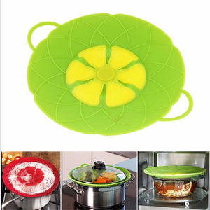 No Spill Silicone Flower Lid Cover - The Innovative Pantry