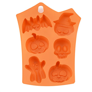 6 Halloween Shape Silicone Mold - The Innovative Pantry