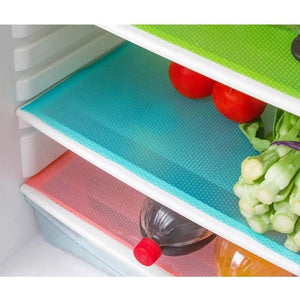 4Pcs/set Antibacterial Refrigerator Waterproof Pad - The Innovative Pantry