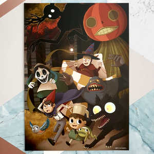 Over The Garden Wall - A4 Print