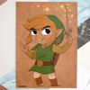 Legend of Zelda - Windwaker - A5 Print