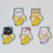 Load image into Gallery viewer, Bananya - Set of 5 Sticker Pack