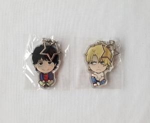 Ash Lynx & Eiji Okumura - Banana Fish - Double Sided Acrylic Charms