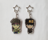 Joseph & Jotaro - JoJo's Bizarre Adventure - Double Sided Acrylic Charms