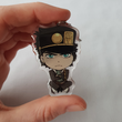 Load image into Gallery viewer, Joseph & Jotaro - JoJo's Bizarre Adventure - Double Sided Acrylic Charms
