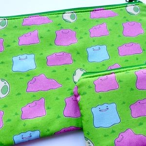 Pokemon Ditto Day Care - coin purse & zippy bag