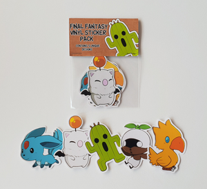 Final Fantasy Creatures - Set of 5 Sticker Pack
