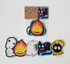 Studio Ghibli - Set of 5 Sticker Pack
