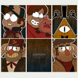 Load image into Gallery viewer, Gravity Falls - Art Cards