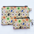 Load image into Gallery viewer, Okami - coin purse & zippy bag