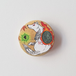 Load image into Gallery viewer, Okami - Amaterasu - Large 58mm Badge