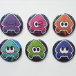 Load image into Gallery viewer, Splatoon Squid - Large 58mm Badges