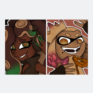 Splatoon 2 - Art Cards