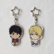 Load image into Gallery viewer, Ash Lynx & Eiji Okumura - Banana Fish - Double Sided Acrylic Charms