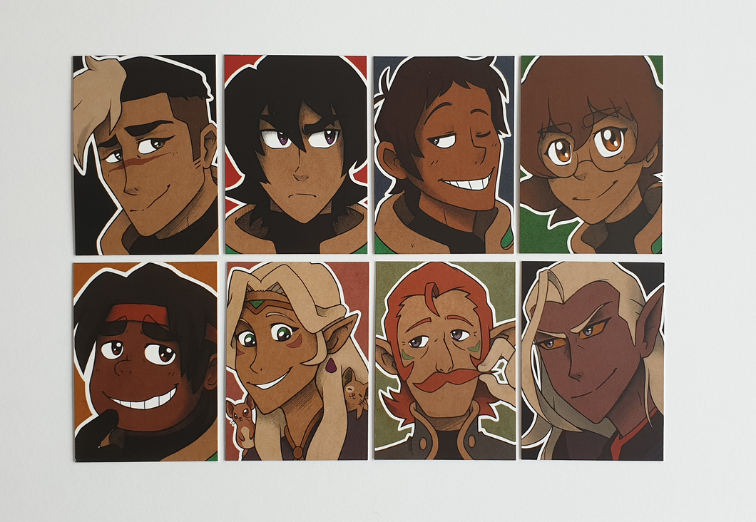Voltron - Art Cards