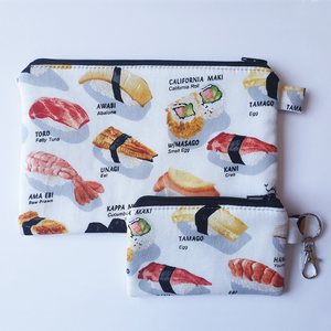 Sushi - Coin purse & zippy bag