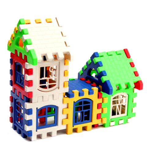 24 Pcs/Set Baby Kids House Building Blocks Educationalg  Developmental ToyGame Toy