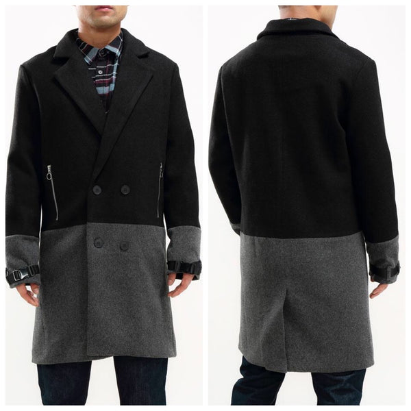 HALF WAY THERE CAR COAT (Black/grey)