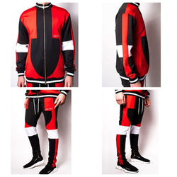 Switchblade track suit (red)