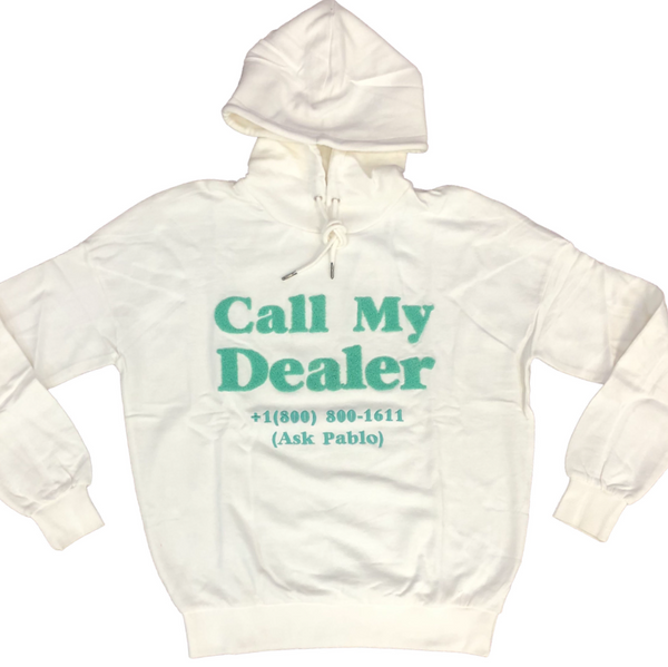 Call my dealer hoodie (White)