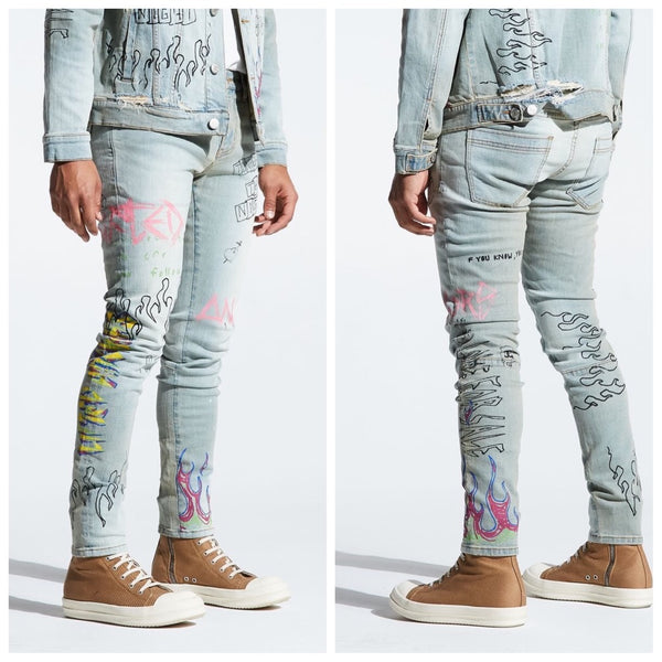 Clarke Denim Jeans (Blue)