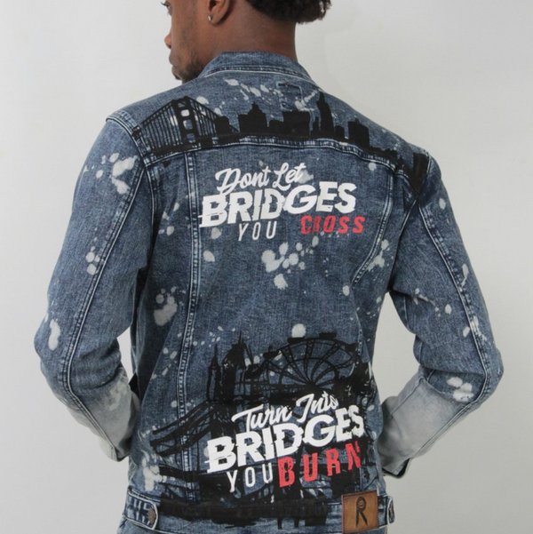 Skyline denim jacket