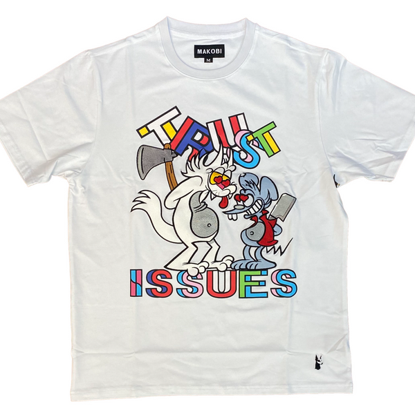 Trust issues tee (White)