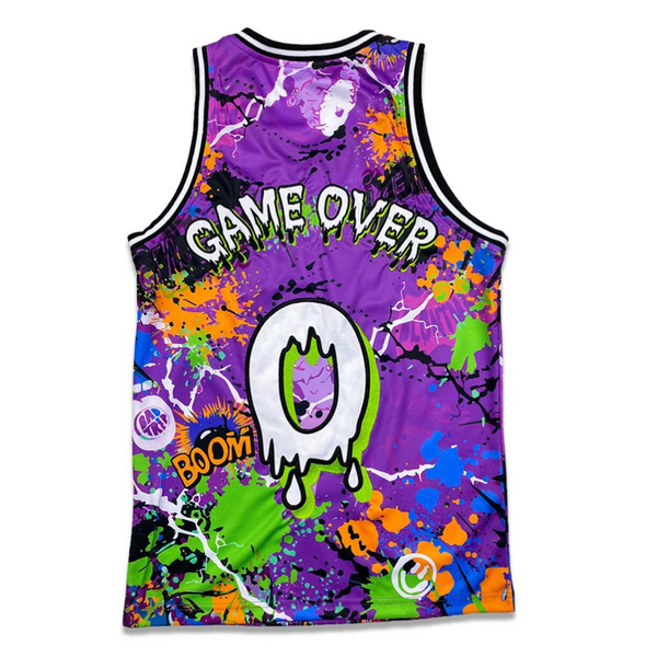 PURPLE TRIPPY JERSEY