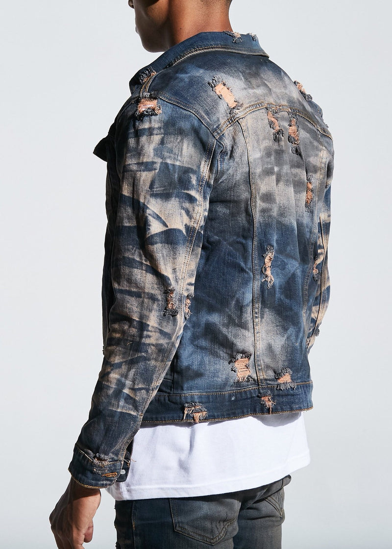 """Calico"" denim jacket (indigo vintage)"