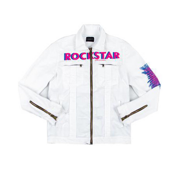 Laurence denim jacket (white)