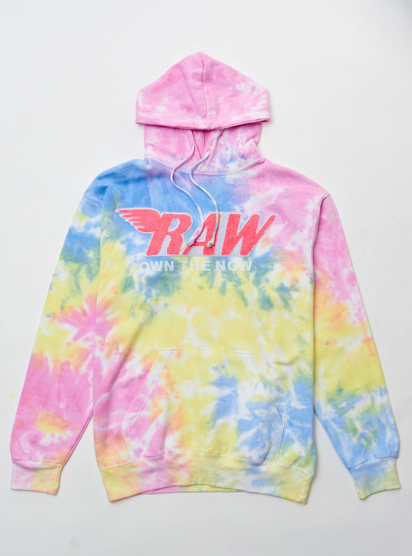 Cotton candy pink and yellow hoody
