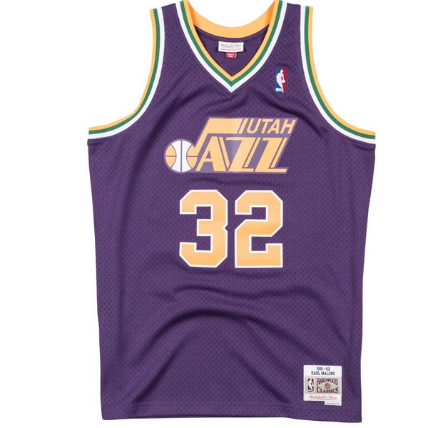 Youth Swingman Jersey Utah Jazz 1991-92 Karl Malone