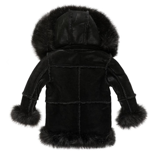 Aspen shearling jackets kids/youth(Black) 91393k