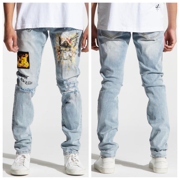 Nowell Painted Denim (CRYH19-141)