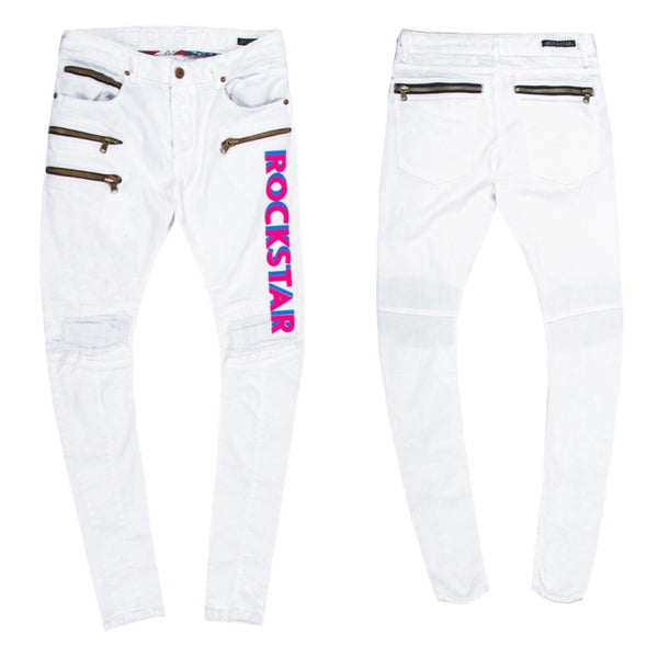 Laurence denim (white)