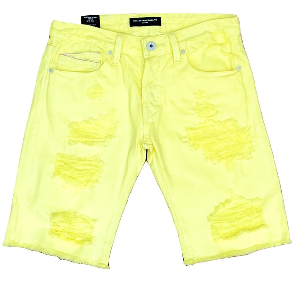Rebel shorts (lemon)