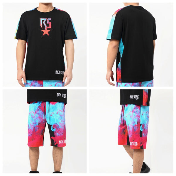 Smoke 2.0 shorts set (Black)
