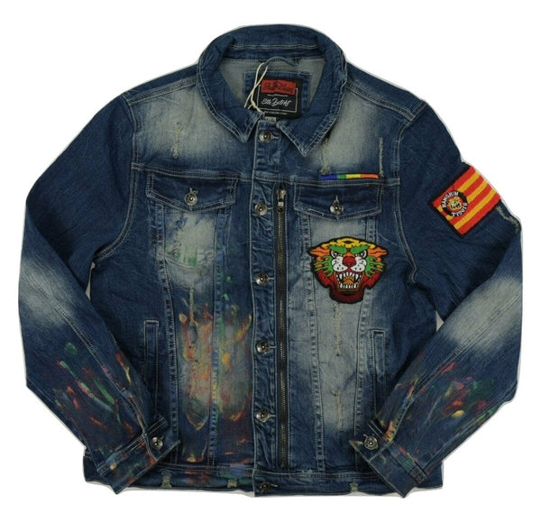 Osaka Tigers Denim Jacket (Dark Indigo)