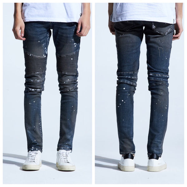 Wyler biker denim