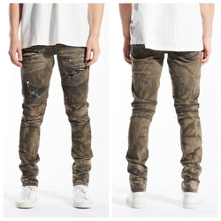 Salvador biker denim(ash brown)