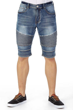 Core Moto Short (Blue)